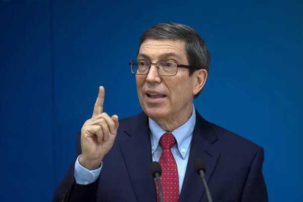 Cuban FM slams US 'slanderous' sanctions
