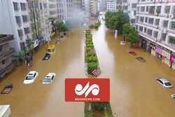 VIDEO: Bird's eye view of devastating flood in China's Henan