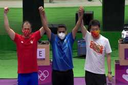 VIDEO: Iran flag raised after Foroughi wins gold medal