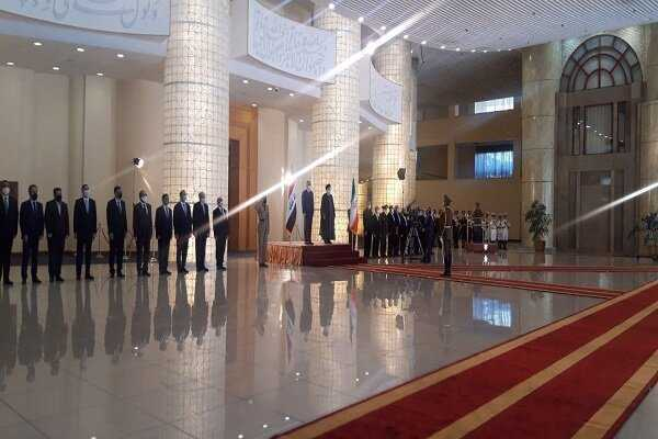VIDEO: Iraqi PM officially welcomed by Iranian President