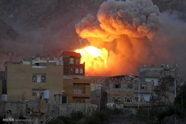 Heavy bombardments reported in Yemen after UAV shot down