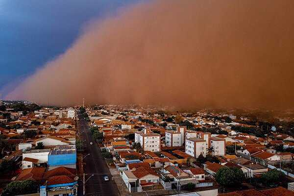 Extreme drought triggers sandstorms in Brazil; 6 dead
