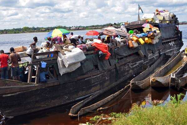 More than 100 dead or missing after boat accident in Congo