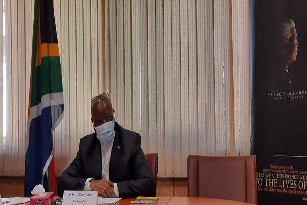 South African amb. talks of bilateral ties, Palestinian issue