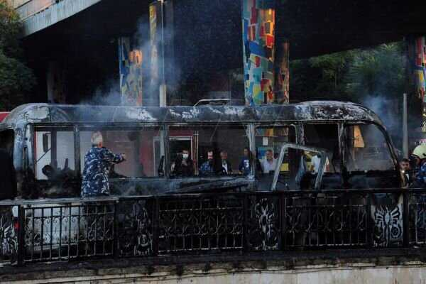 At least 13 killed in Damascus bus blast (+VIDEO)