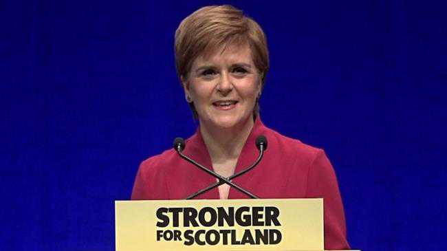 Sturgeon concludes conference on high note
