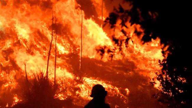 Massive wildfires spread across Lebanon