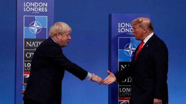 Boris tries to sound tough at NATO summit