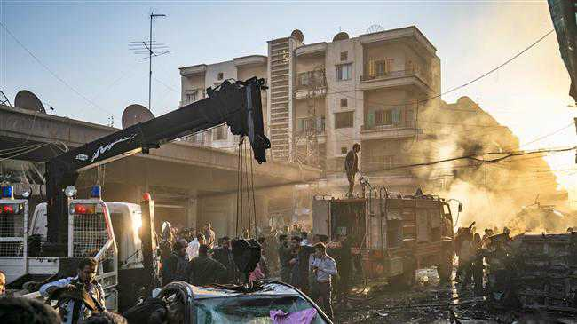 Double bomb attack kills 2, injures 6 in Syria's Hasakah