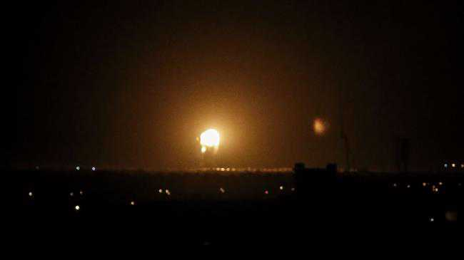 Israeli aircraft bomb Gaza Strip for 2nd time in 24 hours