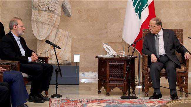 Larijani: Iran ready to help Lebanon's economic recovery