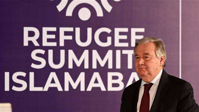 UN chief praises Iran for hosting Afghan refugees