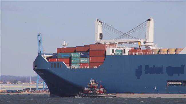 Saudi Arabian cargo ship met with anti-war protest at Italian port