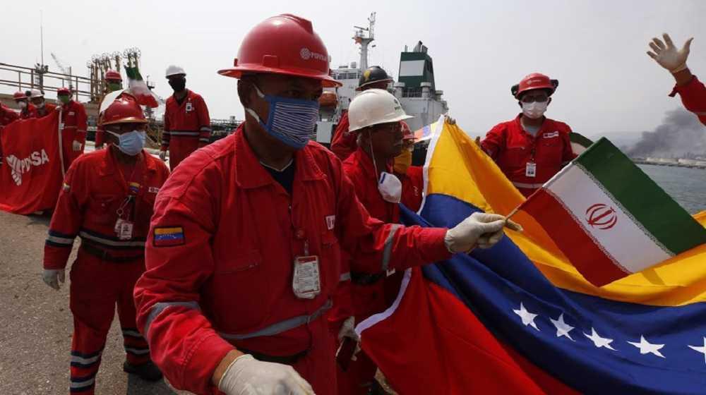 Iranian fuel breathes new life into key Venezuelan refinery
