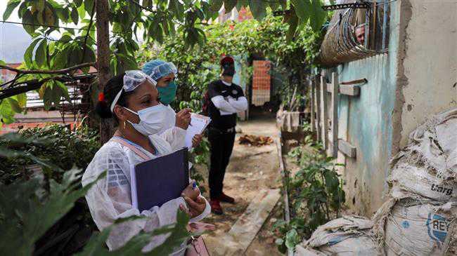 Coronavirus cases top 20,000 in Venezuela