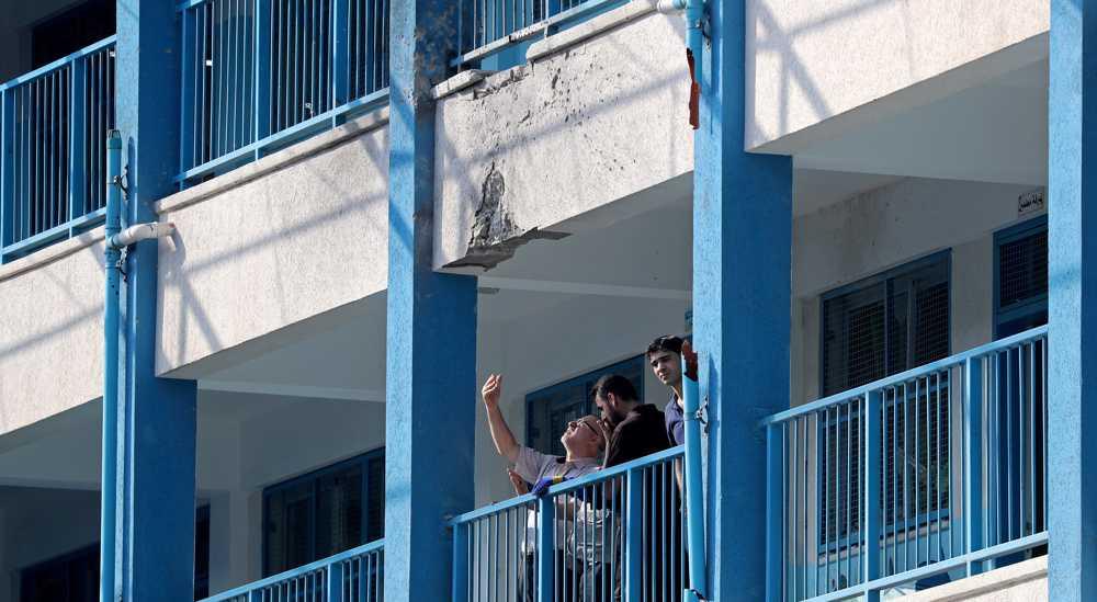 UN school in Gaza damaged in Israeli strike over fire balloons