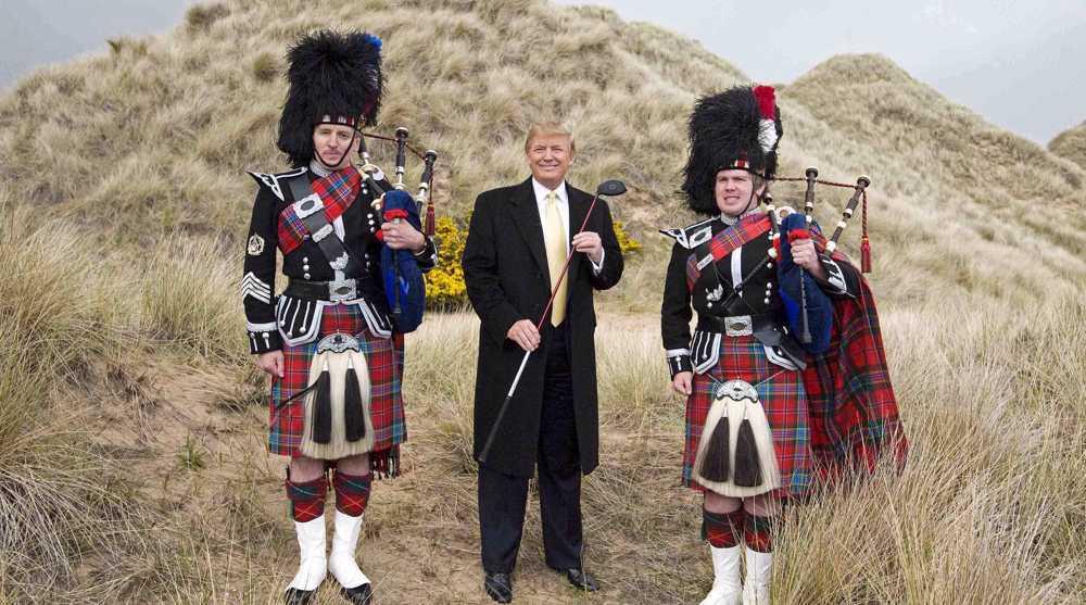 New Trump golf course in Scotland gets go-head despite environmental fears