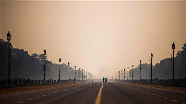 Heavy air pollution continues to plague New Delhi residents