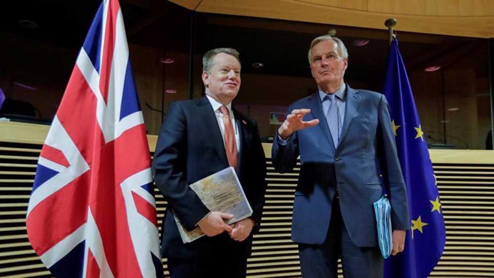 EU negotiator scrambles to revive post-Brexit trade talks