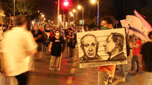 Thousands rally in 1000-plus locations against Netanyahu