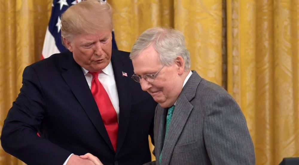 McConnell proposes delaying Trump's impeachment trial until February