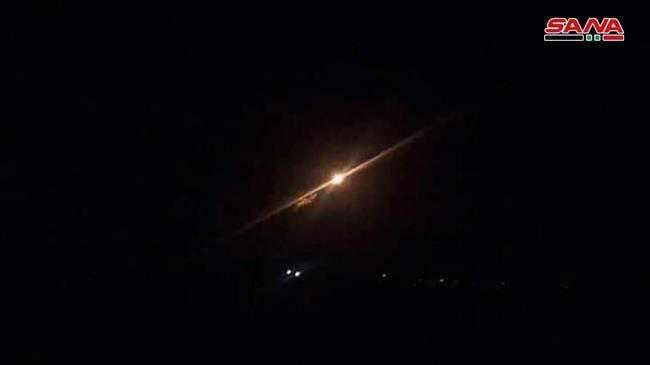 Syrian air defense thwarts Israeli aggression, destroys missiles