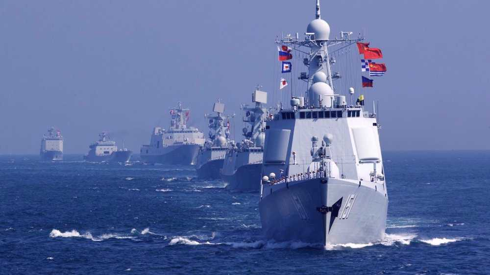 'China working to make its navy formidable in face of US aggression'