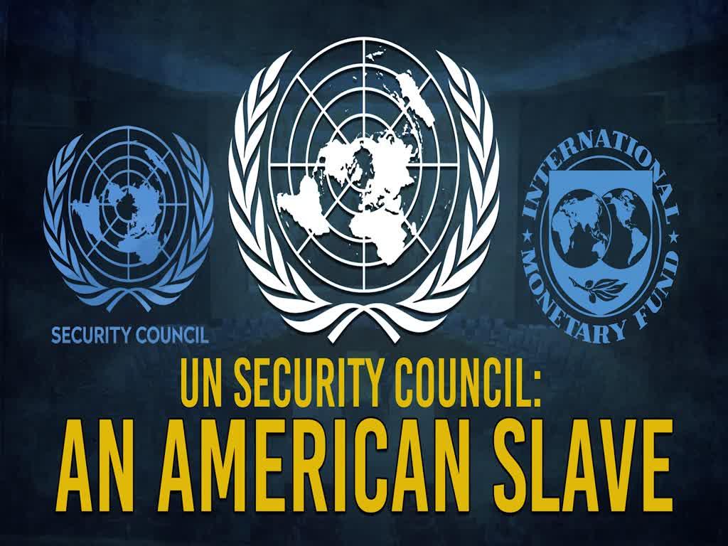 UN Security Council: An American Slave   Imam Khomeini (R)   Farsi Sub English