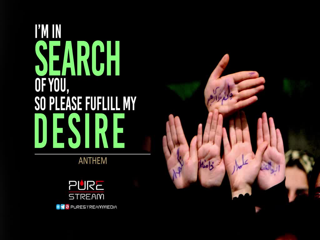 I'M IN SEARCH OF YOU, SO PLEASE FUFLILL MY DESIRE | ANTHEM | Arabic Sub English