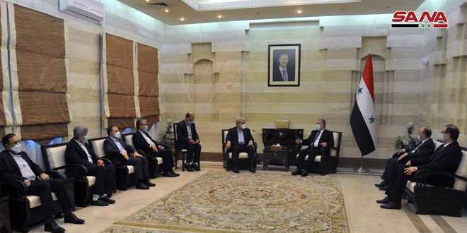 Syrian, Iran to develop scientific and IT cooperation