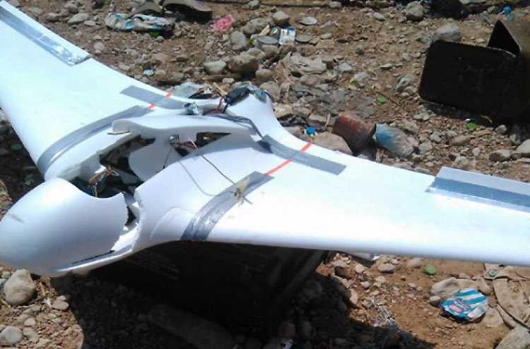 Yemenis say a Saudi drone was shot down by Yemen's air defense near Najran - Yemen Press