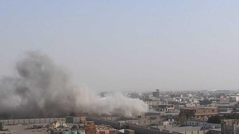 A Yemeni child injured due to Saudi Artillery bombing in Hodeidah - Yemen Press